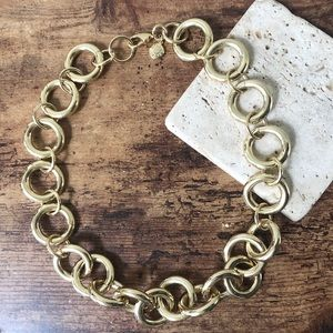 J.Crew Gold Chunky Chain Necklace